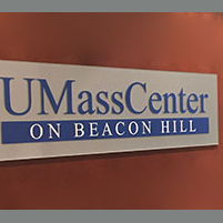 Picture of UMass Center sign