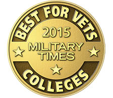 Best for Vets 2015 Military Times Business Schools logo